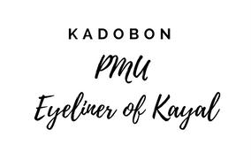 Kadobon PMU Eyeliner Of Kayal