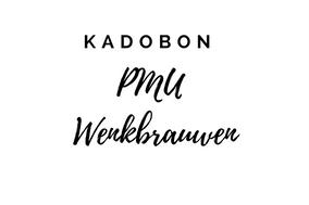 Kadobon PMU Wenkbrauwen