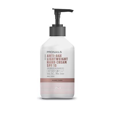 Anti-Age Lightweight Hand Cream SPF 15 – 300 Ml