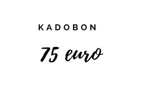 Kadobon 75 Euro