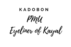 Kadobon PMU Eyeliner Of Kayal