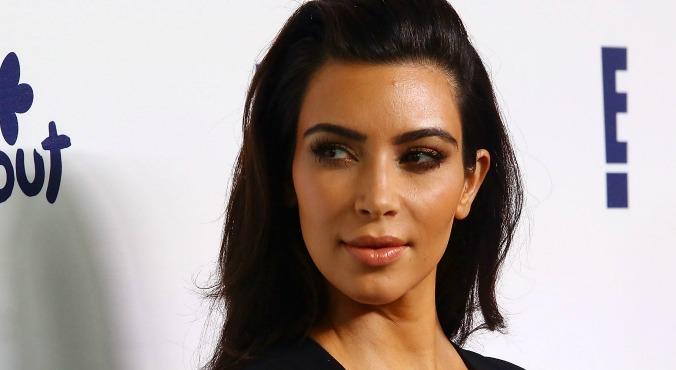 wenkbrauwen Kim Kardashian