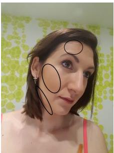 shapen met bronzingpoeder
