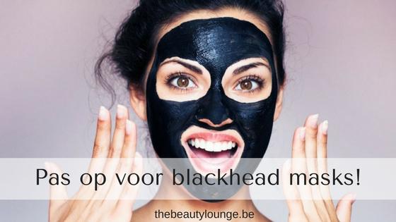 Pas Op Voor Zwarte Peeling Maskers!