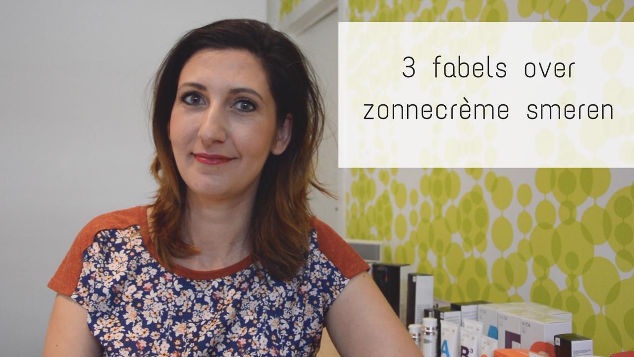 3 Fabels Over Zonnecrème Smeren