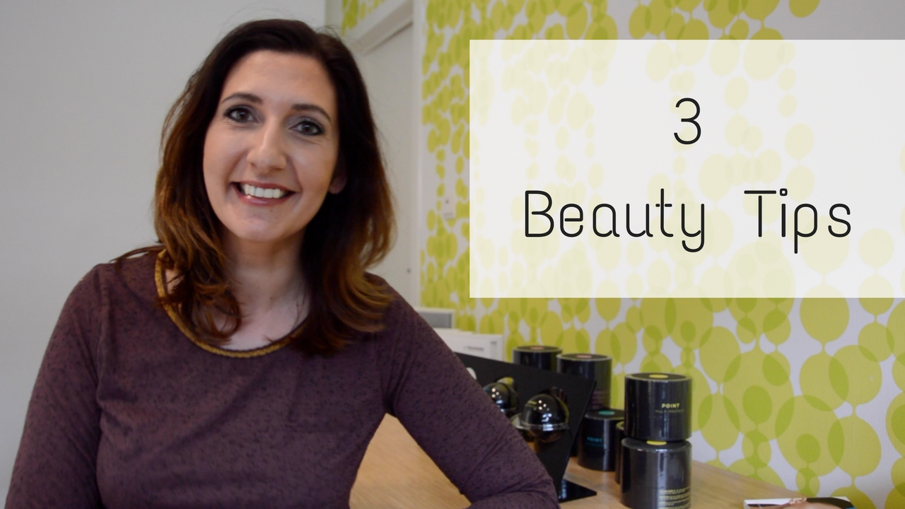 3 Beauty Tips