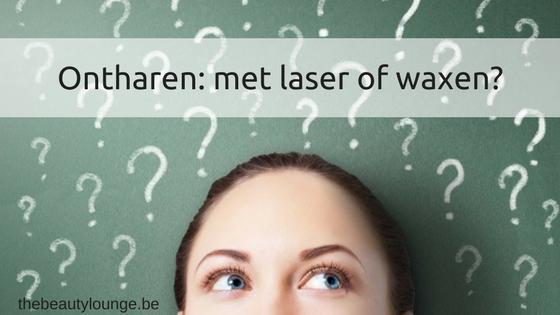 Laserontharing Of Waxen?