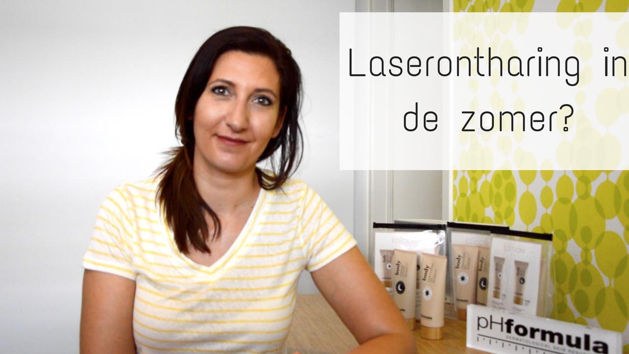 Laserontharing In De Zomer?