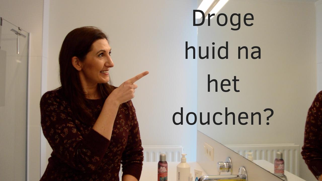 Droge Huid Na Het Douchen?