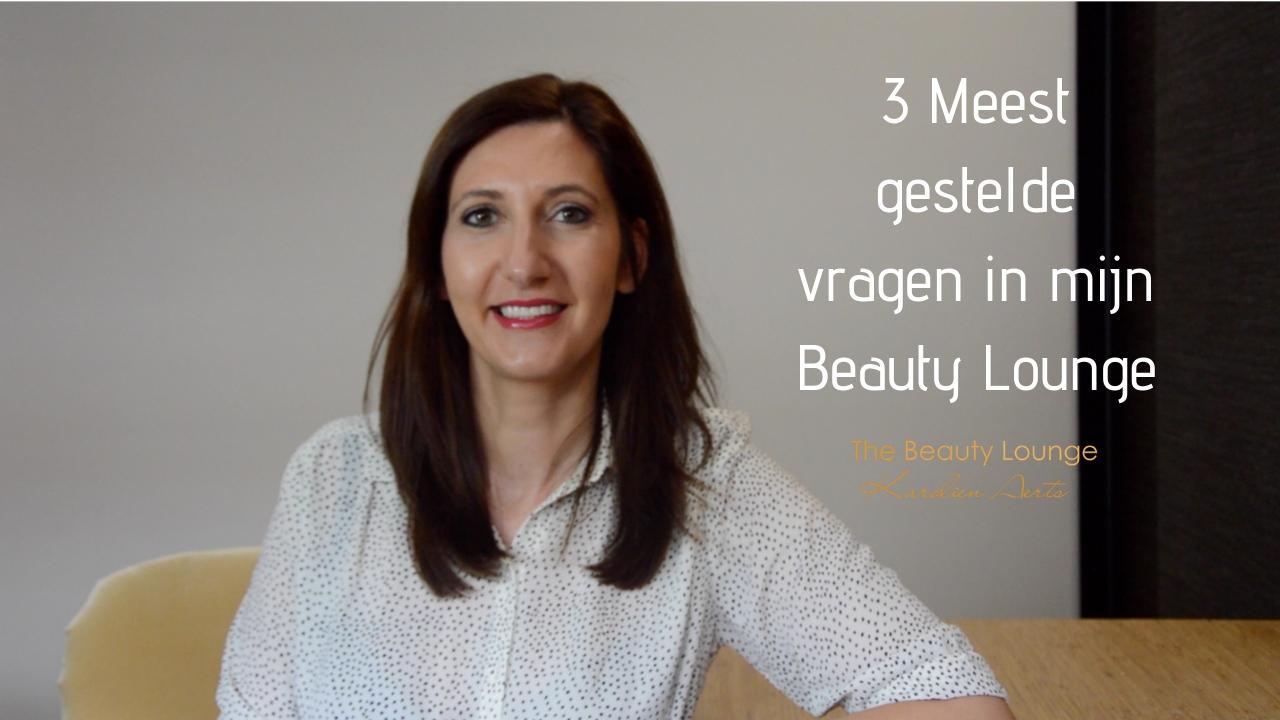 3 Meest Gestelde Vragen In Mijn Beauty Lounge