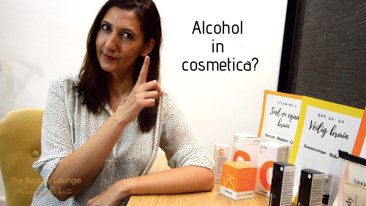Alcohol In Cosmetica