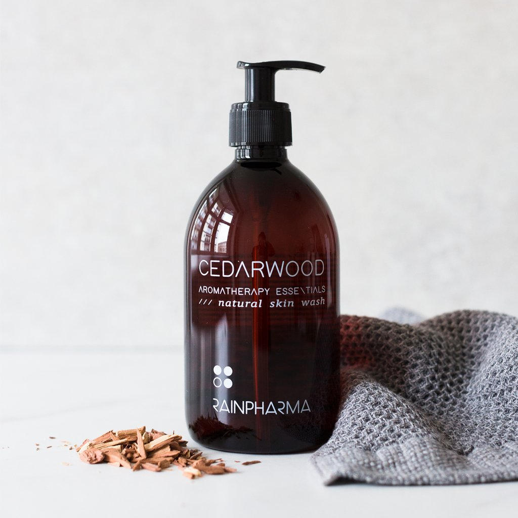SKIN WASH CEDARWOOD  500 ML