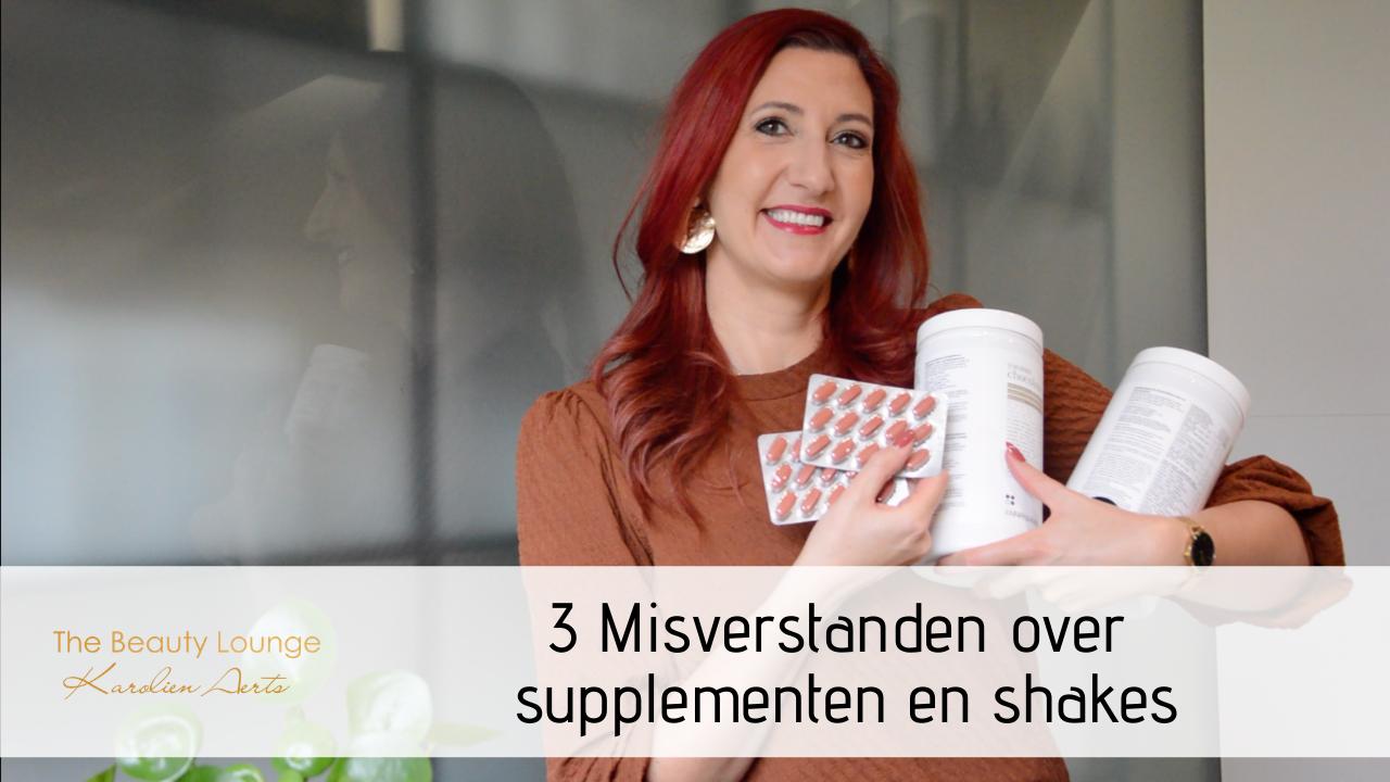 3 Misverstanden Over Supplementen En Shakes