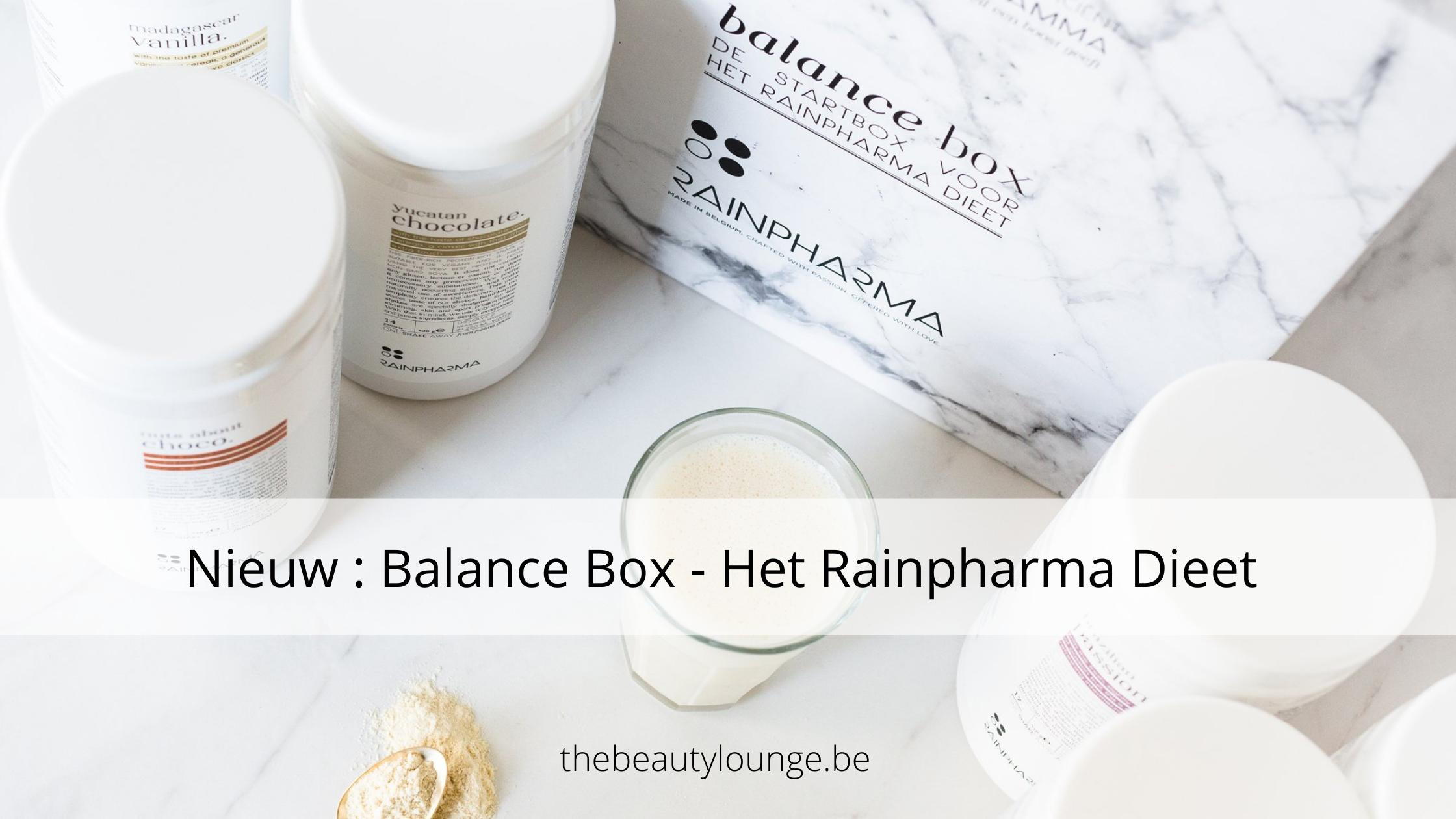 Nieuw : Balance Program – Rainpharma Dieet